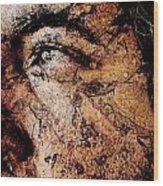 Michelangello Wood Print