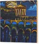 Michelangelo Renaissance Arches Wood Print