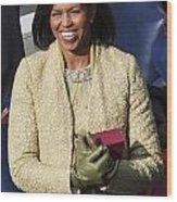 Michelle Obama Wood Print