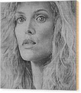 Michelle Pfeiffer Wood Print