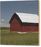 Michigan Barn Wood Print