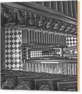 Michigan State Capital Stairwell Wood Print