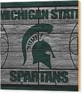 Michigan State Spartans Wood Print