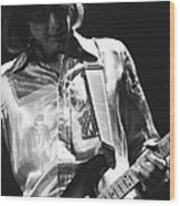 Mick In Spokane 1977 Wood Print