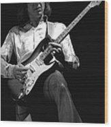 Mick Rocks 1977 Wood Print