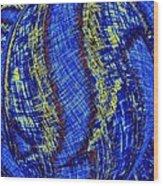 Micro Linear 41 Wood Print