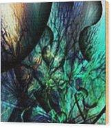 Microcosm  Wood Print