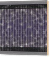 Microscopic Scale - Purple  Wood Print