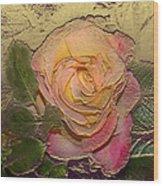 Midas Rose Wood Print
