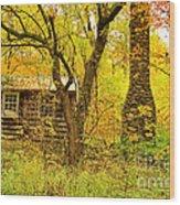 Middle Road Gem Wood Print