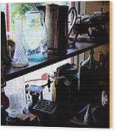Middlebrook General Store Window Wood Print