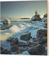 Middlebrun Bay Sunset II Wood Print