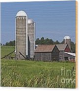 Middlebury Vermont Barn Wood Print