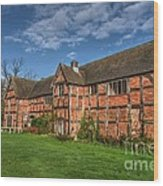 Middleton Hall Courtyard Centre Wood Print