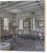 Middleton Place Rice Mill Interior Wood Print