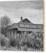 Midland Coal Mining Co. Wood Print