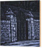 Midnight At The Prison Gates Wood Print