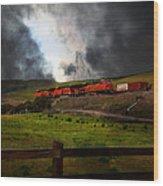 Midnight Train - 5d21043 Wood Print