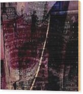 Midnights Grapes  Wood Print