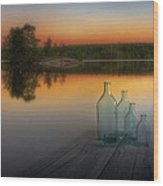 Midsummer Magic Wood Print