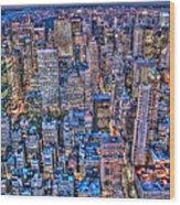 Midtown Manhattan Skyline Wood Print