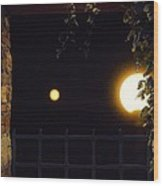 Midwest Blue Moon  Wood Print