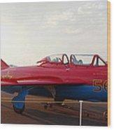 Mig Trainer Jet Wood Print