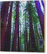 Mighty Wood Print
