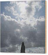 Mighty Megalith At Callanish II Wood Print