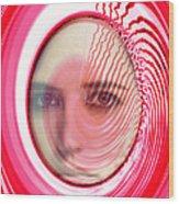 Migraine Wood Print