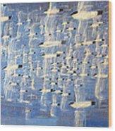 Migrate Wood Print by Charlie Baird