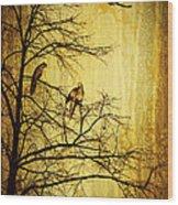 Migratory Wood Print