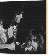 Mike Somerville And John Schlitt Of Head East Wood Print