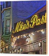 Mike's Pastry Shop - Boston Wood Print by Joann Vitali