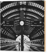 Milano Centrale - Train Station Wood Print