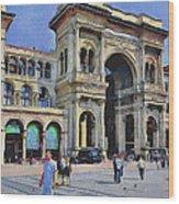 Milano Dome Square 1 Wood Print