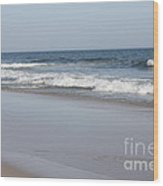 Mild Winter Day At Jones Beach Wood Print