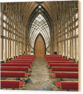 Mildred Cooper Chapel-1 Wood Print by Maxwell Amaro