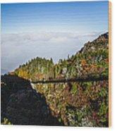 Mile High Bridge Wood Print