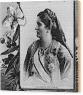 Milena Vukotic (1847-1923) Wood Print