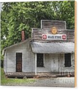 Miles Country Store Wood Print by Benanne Stiens