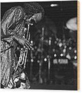 Miles Davis 1 Wood Print