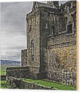 Military Fortress Wood Print