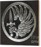 Military - French Foreign Legion Insignia Wood Print