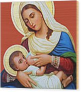 Milk Grotto Icon Wood Print