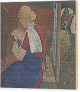 Milkmaid Wood Print