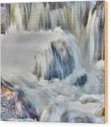 Milky Waterfall Wood Print