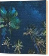 Milky Way From Jambiani Beach Wood Print