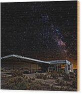 Milky Way Gas Wood Print