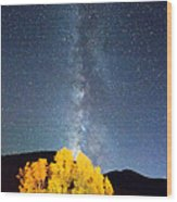 Milky Way October Sky Wood Print by James BO  Insogna